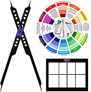 Artists Kit Proportional Divider Scale Drawing Tool for Artists, Color Wheel and Artists View Finder