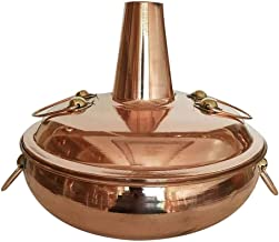 Grill électrique portable, Safe Cookware Fondue Friteuses Cuivre Traditionnel Cuivre Chaud Cuivre, Cuisinière à induction ...