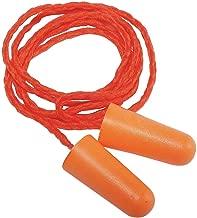 CONDOR22ED81 Ear Plugs, Cord, NRR 32dB, Org, Red, PK100