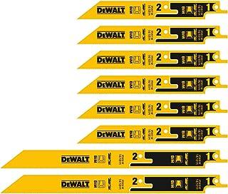 DeWalt DT2446-QZ Reciprocating Blades, One Size, Set of 8 Pieces