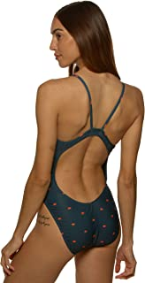 JOLYN Women's Fixed-Back Chevy One-Piece Swimsuit Prints/Dawn