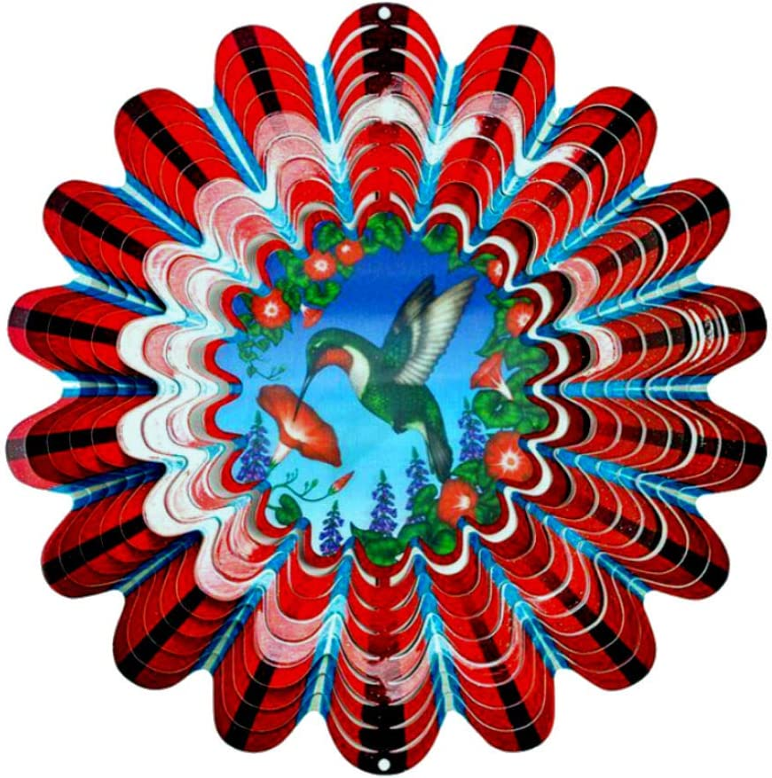 Hummingbird Our shop OFFers the best service Wind Spinner Spinners 12 Product Yard. for