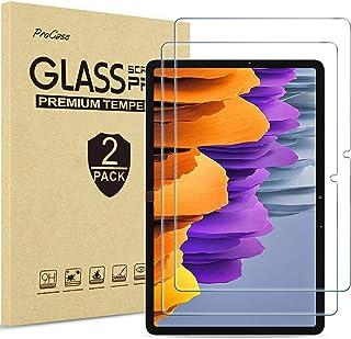 """ProCase [2枚セット] Galaxy Tab S7 11"""" 2020 専用 液晶保護フィルム 強化ガラス スクリーンプロテクター 適用機種: Galaxy Tab S7 11インチ 2020発売(SM-T870/T875/T878)"""