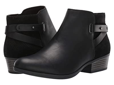 Clarks Addiy Gladys (Black Leather) Women