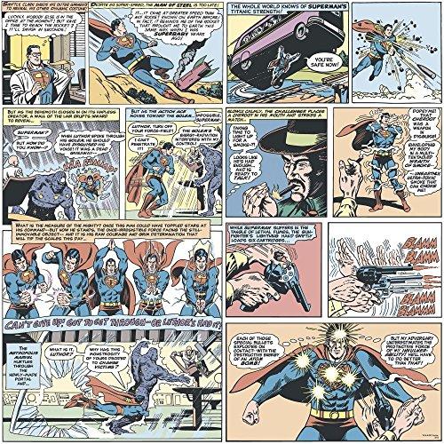 DC Comics Superman Comic Tapete