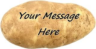 Zemmys Mail a Message on a Real Potato Funny Gag Novelty Joke