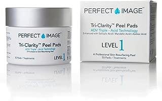Tri-Clarity Peel Pads Enhanced with Salicylic | Mandelic | Botanical Blend