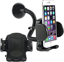 360 Degree Rotatable Car Windshield Holder Suction Mount with Air Vent Attatchment for Apple iPhone 4