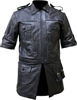 Men,s Noctis Lucis Caelum Final Fantasy XV black Leather Jacket, XXS-3XL