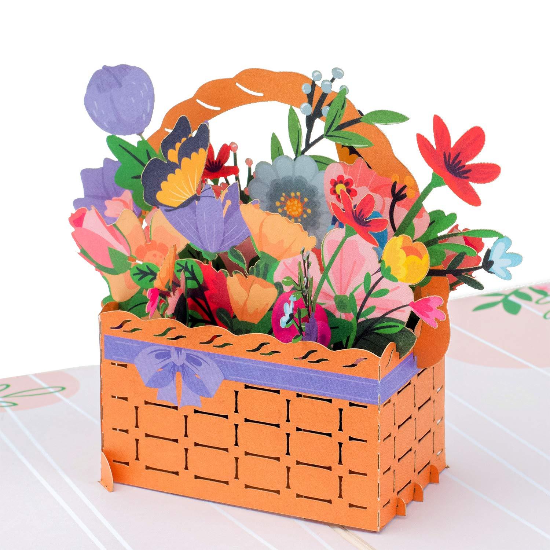 ArtPress Susan Kane Chemistry Flasks Floral Art Greeting Card 12 X 17 cm