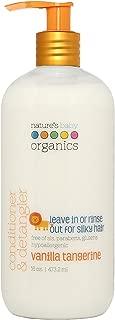 Nature's Baby Organics Conditioner & Detangler,Vanilla Tangerine, 16 oz