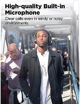 COWIN SE7 Active Noise Cancelling Headphones Bluetooth Headphones Wireless Headphones Over Ear with Microphone, Comfo...