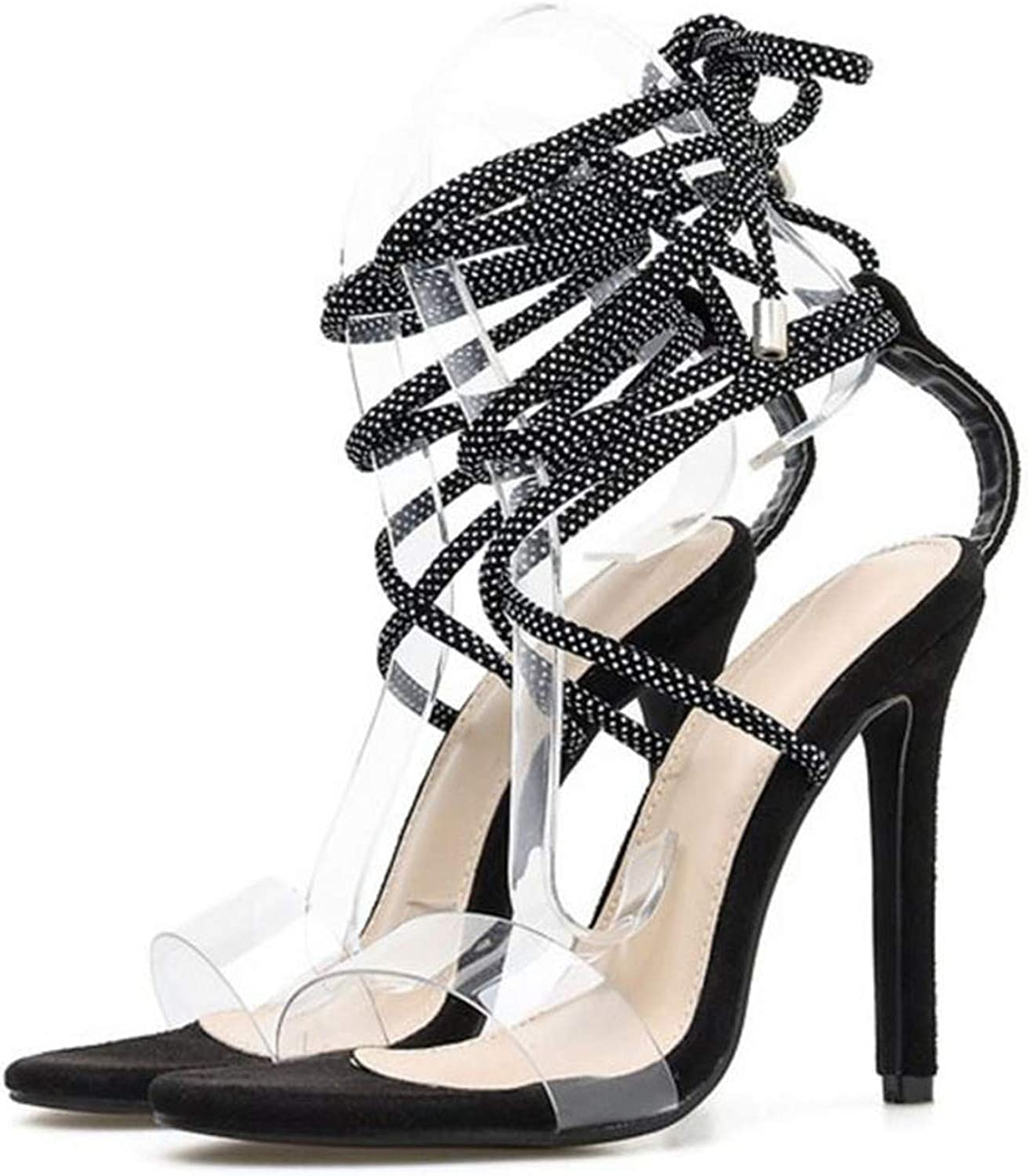 QianQianStore Sexy Sandals Cross Strap Fashion Party Dating Bar Sandals shoes Women Club Size 35-40