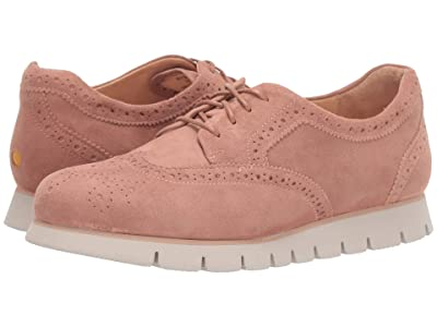 Samuel Hubbard SamSport Wing Tip (Antique Rose) Women
