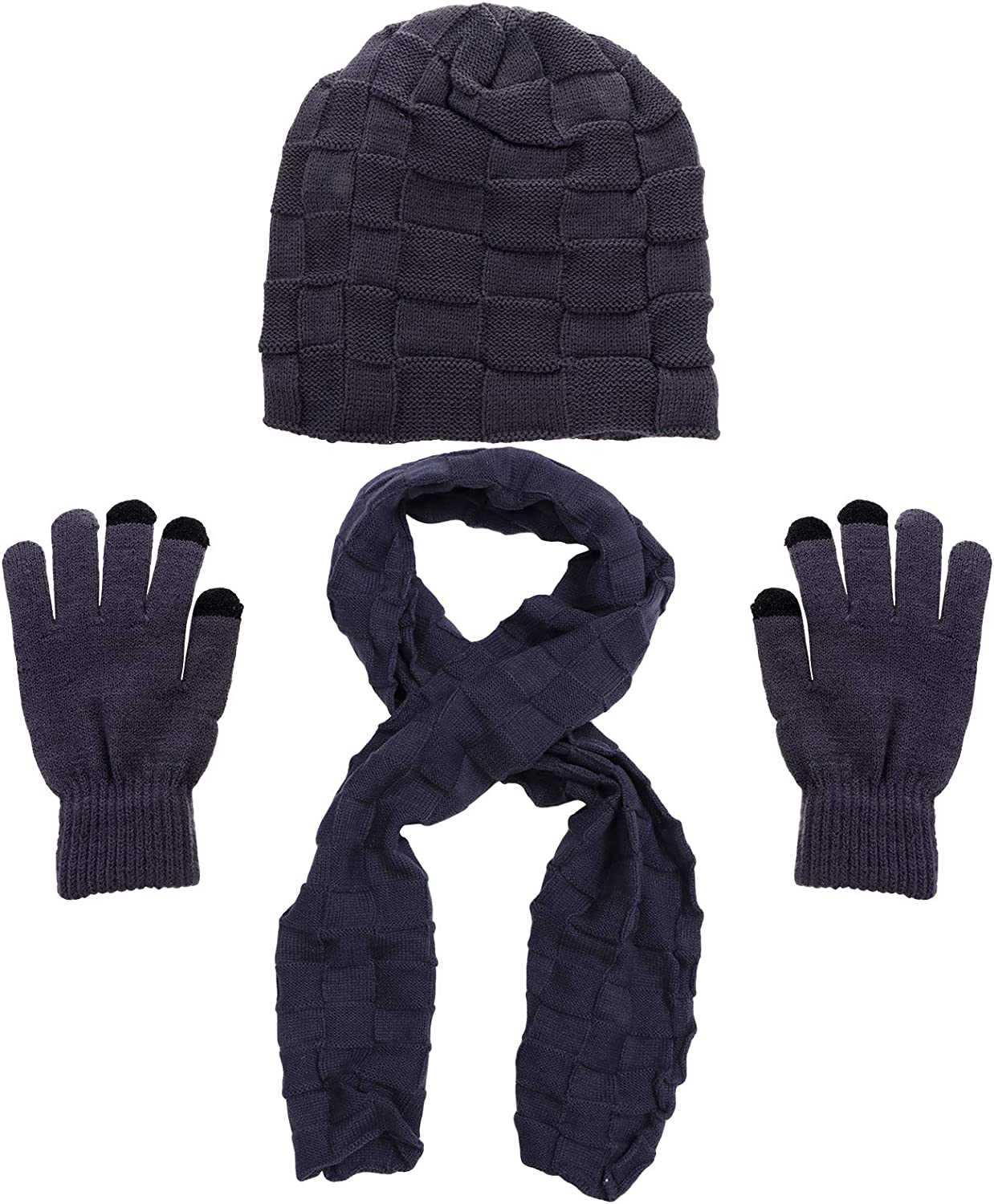 Abaodam Winter Knitted Scarf Beanie and Warm Sale price Bombing new work for Gloves Hat