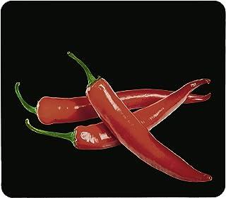 WENKO Crédence de cuisine en verre Hot Peperoni - Protège-plaque pour plaques de cuisson vitrocéramiques et induction, pla...