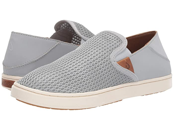 Pehuea  Shoes (Pale Grey/Pale Grey) Women's Slip on  Shoes