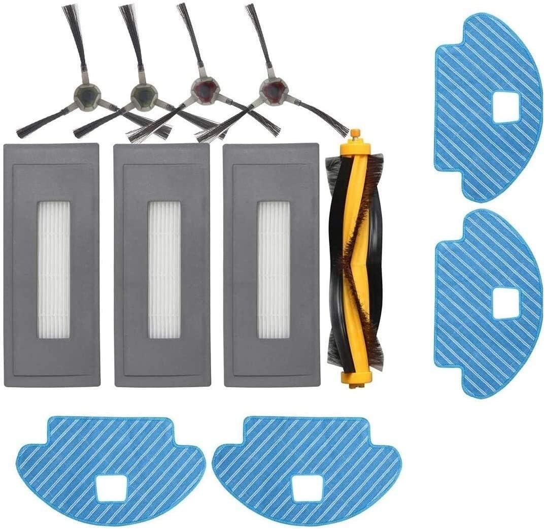Robot Side Brush Filter Main Brush Roller Mop Cloth for Deebot O