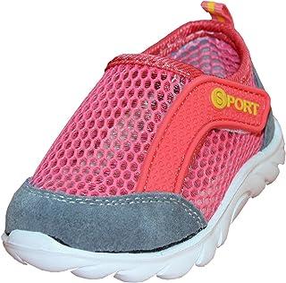 WiggleWalkers Unisex Toddler Sports Summer Air Sneaker, Size 6-8