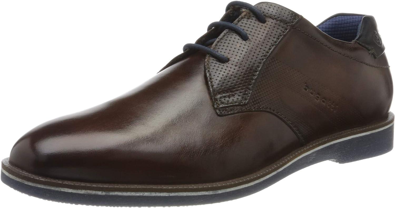 bugatti 312647053500, Zapatos de Cordones Derby Hombre