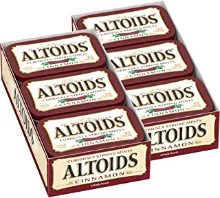 ALTOIDS Classic Cinnamon Breath Mints, 1.76-Ounce Tin (12 Packs)