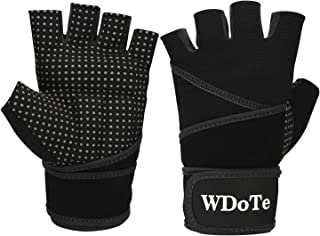 Womens Mens Weight Lifting Gloves with 17.7