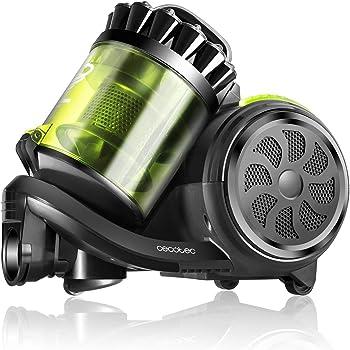 Cecotec Aspirador Trineo Conga Powerciclonic. Aspirador sin Bolsa Potente, Tecnología multiciclónica, Filtro HEPA, Ligero y Compacto, Silencioso, Accesorio 2en1.: Amazon.es: Hogar
