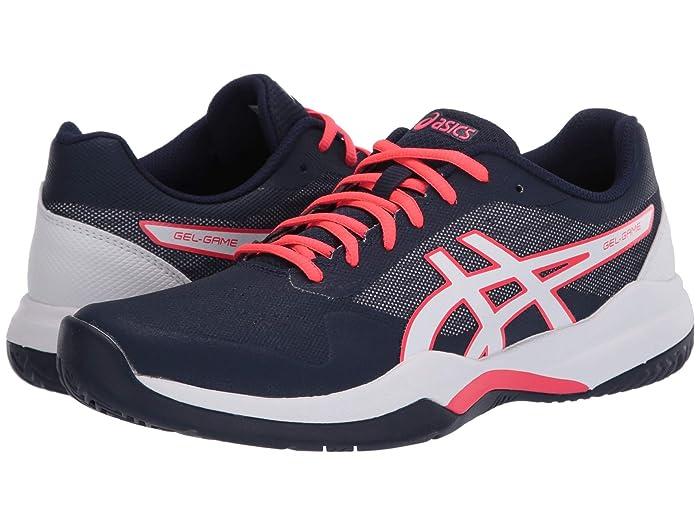 ASICS  Gel-Game 7 (Peacoat/White) Womens Tennis Shoes