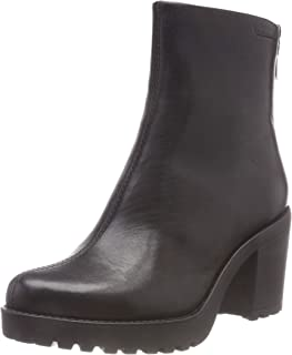 Vagabond Womens Grace Fashion Block Heel Elastic Closed Toe Ankle Boot