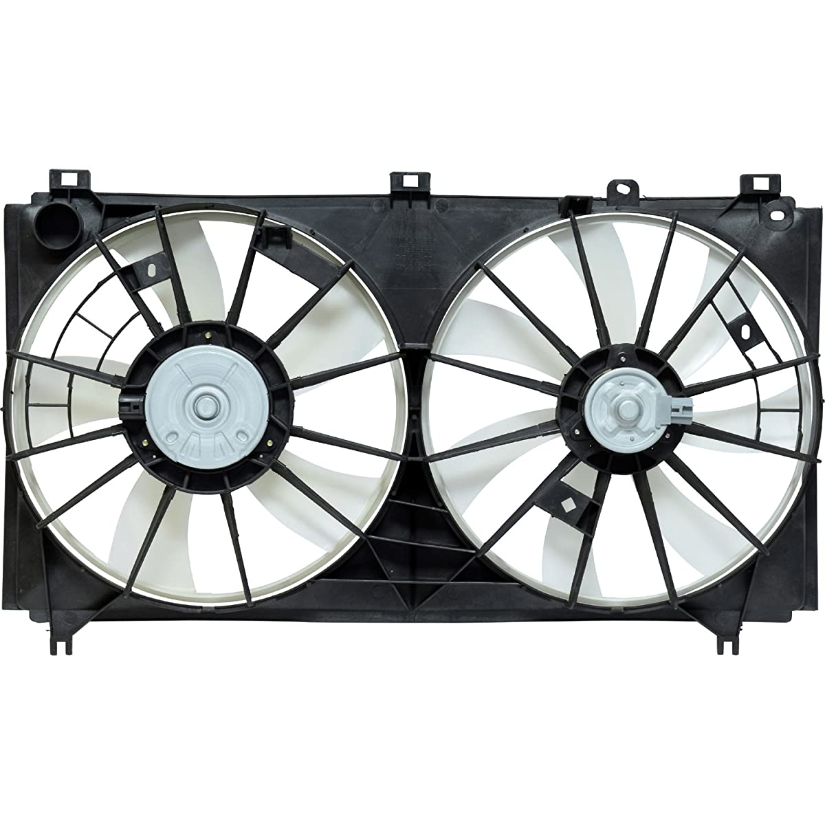 Universal Air Conditioner FA 50273C Dual Radiator and Condenser Fan Assembly