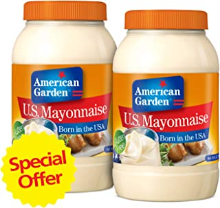 American Garden Mayonnaise, 850 gm (Pack of 2)