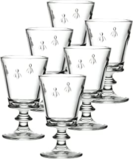 La Rochere Set Of 6, 12-ounce Napoleon Bee Tasting Glasses