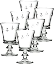 La Rochere Set Of 6, 12-ounce Napoleon Bee Tasting Glasses