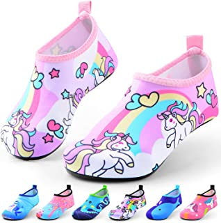 Sunnywoo Water Shoes for Kids Girls Boys,Toddler Kids Swim Water Shoes Quick Dry..