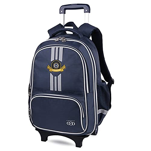 abb35890101 COOFIT School Backpacks with Wheels Kids Trolley Bag Rolling Backpack  Children's Backpack Wheeled Backpacks for School