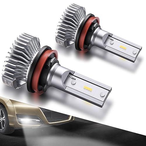 SEALIGHT H11/H8/H16 LED Fog Lights Bulbs Cool Xenon White 4000 Lumen 6000K
