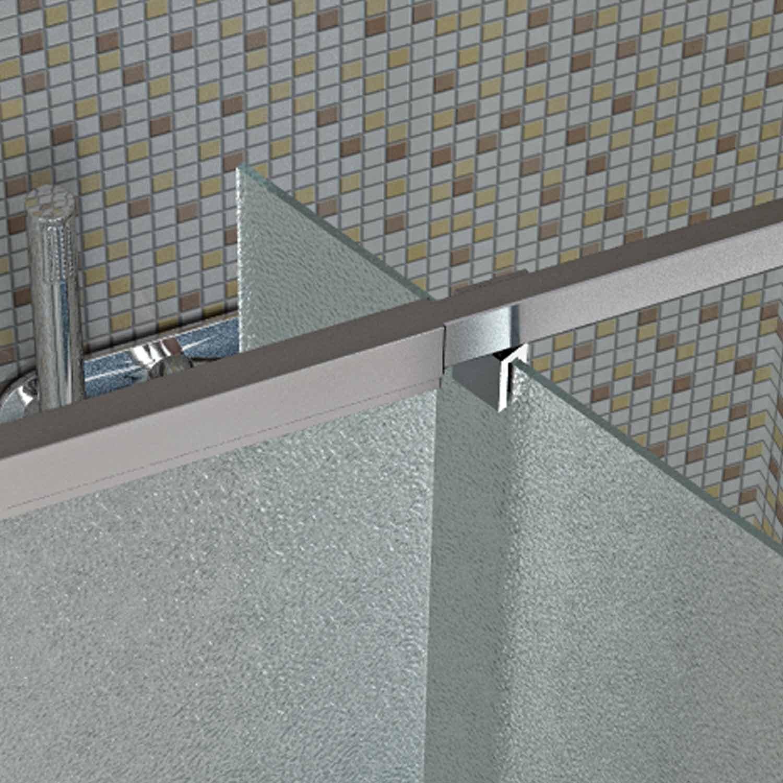 Para puerta de ducha Pivot 1050 mm H1850 minicadena cristal mod, Dakota: Amazon.es: Bricolaje y herramientas