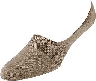 CrookhornDavis Men's Cotton No-Show Casual Sock