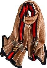 YMXHHB Fashion Scarves 100% Silk Feeling Scarf Silk Like Scarves Long Lightweight Sunscreen Shawls for Women