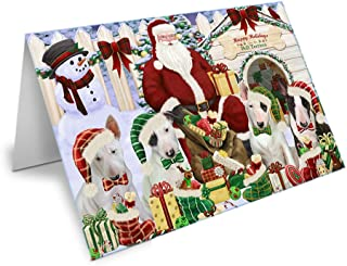 Best bull terrier christmas cards Reviews