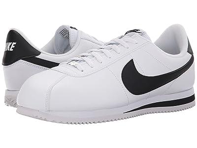 Nike Cortez Leather (White/Metallic Silver/Black 1) Men