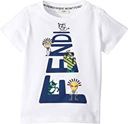 Fendi Kids - Short Sleeve Logo Graphic T-Shirt (Infant)