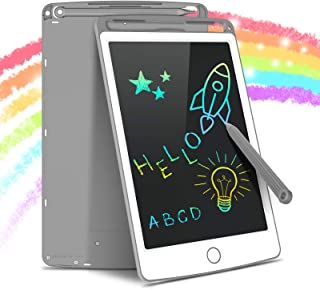 Tecboss LCD Writing Tablet Colorful Screen, Erasable Electronic Digital Drawing Pad Doodle Board, Gift for Kids Adults Hom...
