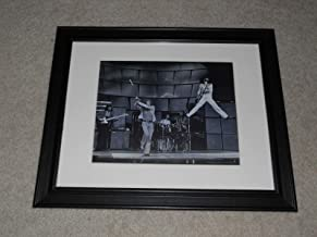 """Cleveland Vinyl Large Framed The Who Live in 1969 Pete Townshend, Keith Moon, Roger Daltrey, John Entwistle 24"""" by 20"""""""