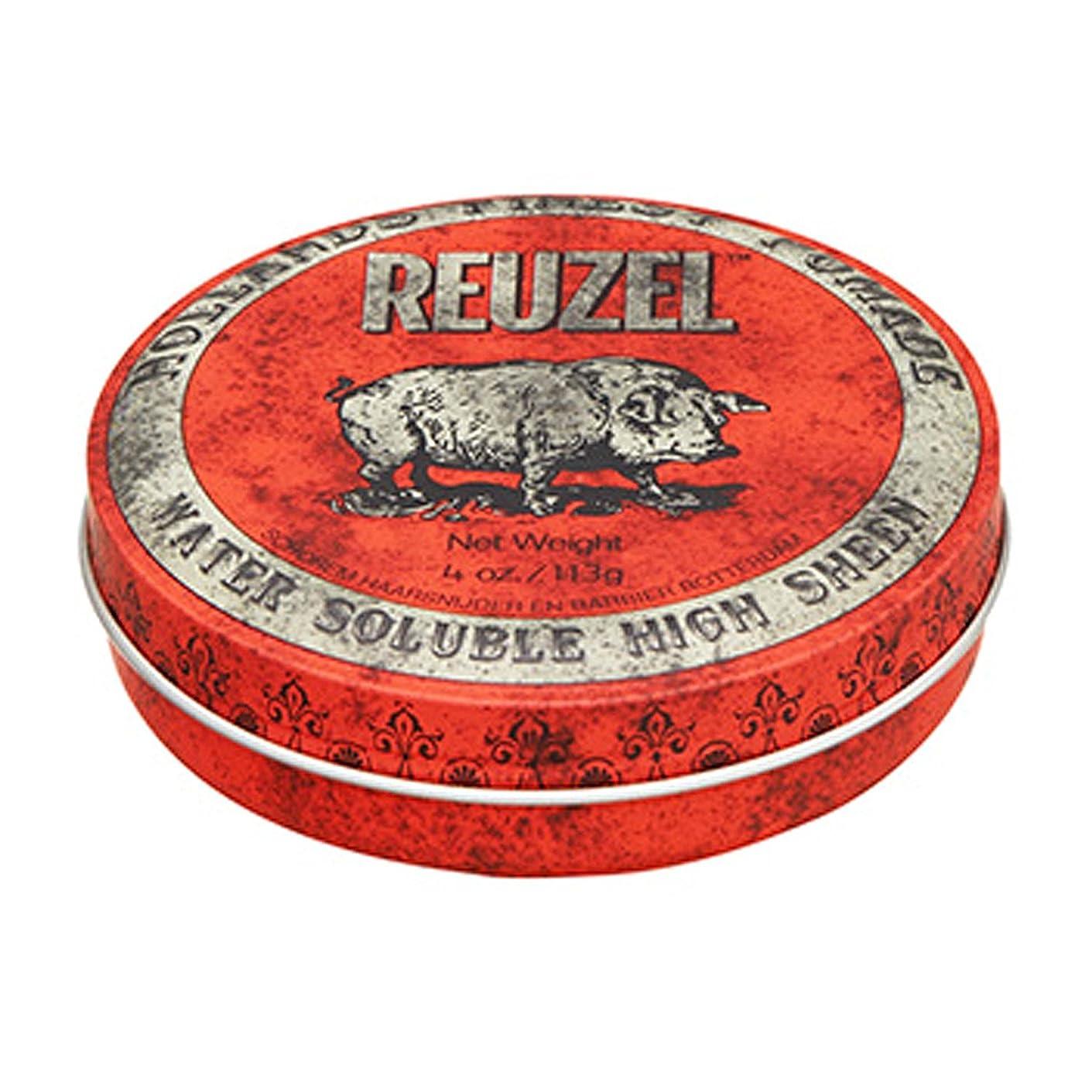 数値崇拝するジョリールーゾー REUZEL HIGH SHEEN ノーマルホールド レッド 113g