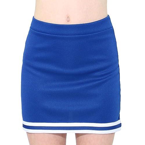 2eb8aab89 Danzcue Child A-Line Cheerleaders Uniform Skirt