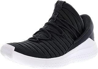 Nike Men's Jordan Flight Luxe Anthracite/Black-White Ankle-High Fabric Basketball Shoe - 8M