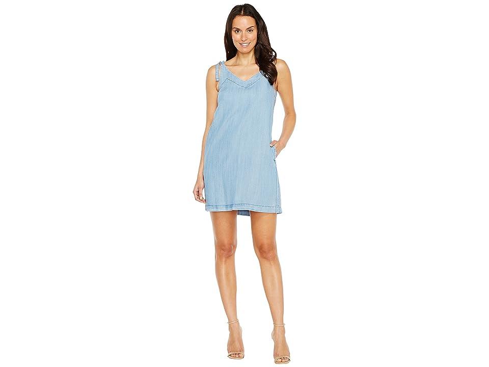 Lilla P Tie Strap Dress (Denim Blue) Women