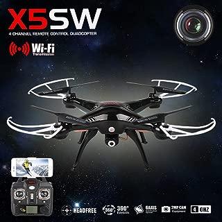 Syma X5sw Explorers-ii FPV 2.4ghz UFO Rc Drone Quadcopter 2mp Wifi Camera- Black