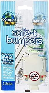 how to stop toilet seat sliding sideways